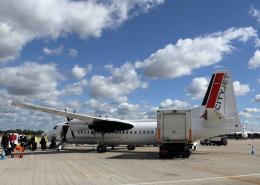 tuckerさんが、ロンドン・シティ空港で撮影したシティジェット 50の航空フォト(飛行機 写真・画像)