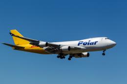 ファントム無礼さんが、横田基地で撮影したポーラーエアカーゴ 747-45EF/SCDの航空フォト(飛行機 写真・画像)