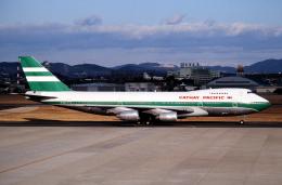 なごやんさんが、名古屋飛行場で撮影したキャセイパシフィック航空 747-267Bの航空フォト(飛行機 写真・画像)