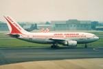 BTYUTAさんが、名古屋飛行場で撮影したエア・インディア A310-304の航空フォト(飛行機 写真・画像)