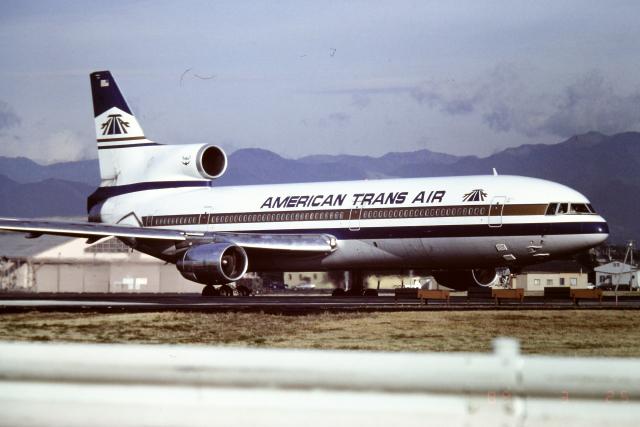 panchiさんが、横田基地で撮影したアメリカン・トランス航空 L-1011 TriStarの航空フォト(飛行機 写真・画像)