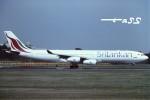 tassさんが、成田国際空港で撮影したスリランカ航空 A340-311の航空フォト(飛行機 写真・画像)