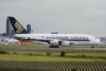 LEGACY-747さんが、成田国際空港で撮影したシンガポール航空 A380-841の航空フォト(飛行機 写真・画像)