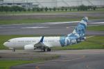 LEGACY-747さんが、成田国際空港で撮影したBBJ One 737-7CJ BBJの航空フォト(飛行機 写真・画像)