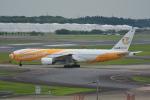 LEGACY-747さんが、成田国際空港で撮影したノックスクート 777-212/ERの航空フォト(飛行機 写真・画像)