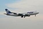 LEGACY-747さんが、成田国際空港で撮影したポーラーエアカーゴ 747-46NF/SCDの航空フォト(飛行機 写真・画像)
