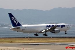 湖景さんが、関西国際空港で撮影した全日空 767-381/ER(BCF)の航空フォト(飛行機 写真・画像)
