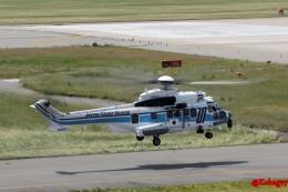湖景さんが、関西国際空港で撮影した海上保安庁 EC225LP Super Puma Mk2+の航空フォト(飛行機 写真・画像)
