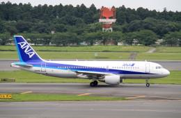 shibu03さんが、成田国際空港で撮影した全日空 A320-214の航空フォト(飛行機 写真・画像)
