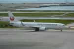 LEGACY-747さんが、那覇空港で撮影した日本トランスオーシャン航空 737-8Q3の航空フォト(飛行機 写真・画像)