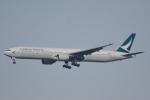 LEGACY-747さんが、成田国際空港で撮影したキャセイパシフィック航空 777-31Hの航空フォト(飛行機 写真・画像)