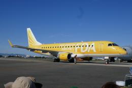 TUILANYAKSUさんが、名古屋飛行場で撮影したフジドリームエアラインズ ERJ-170-200 (ERJ-175STD)の航空フォト(飛行機 写真・画像)