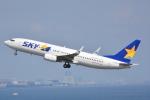 LEGACY-747さんが、羽田空港で撮影したスカイマーク 737-8HXの航空フォト(飛行機 写真・画像)