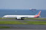 LEGACY-747さんが、羽田空港で撮影したアメリカン航空 777-323/ERの航空フォト(飛行機 写真・画像)