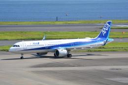 LEGACY-747さんが、羽田空港で撮影した全日空 A321-272Nの航空フォト(飛行機 写真・画像)