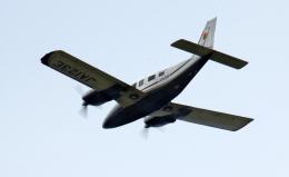 CL&CLさんが、奄美空港で撮影した北日本航空 PA-34-220T Seneca Vの航空フォト(飛行機 写真・画像)