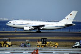 パール大山さんが、羽田空港で撮影したベルギー空軍 A310-222の航空フォト(飛行機 写真・画像)