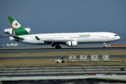 パール大山さんが、羽田空港で撮影したエバー航空 MD-11の航空フォト(飛行機 写真・画像)