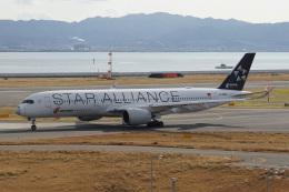 神宮寺ももさんが、関西国際空港で撮影した中国国際航空 A350-941の航空フォト(飛行機 写真・画像)