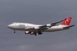 senyoさんが、成田国際空港で撮影したノースウエスト航空 747-451の航空フォト(飛行機 写真・画像)