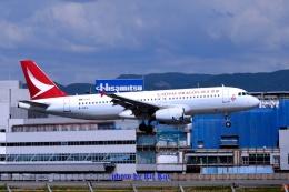キットカットさんが、福岡空港で撮影した香港ドラゴン航空 A320-232の航空フォト(飛行機 写真・画像)