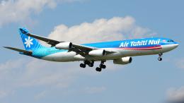 saoya_saodakeさんが、成田国際空港で撮影したエア・タヒチ・ヌイ A340-313Xの航空フォト(飛行機 写真・画像)