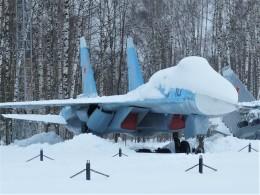 Smyth Newmanさんが、モニノ空軍博物館で撮影したソビエト空軍 Su-27の航空フォト(飛行機 写真・画像)