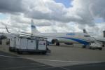 TUILANYAKSUさんが、パリ シャルル・ド・ゴール国際空港で撮影したエンターエア 737-8BKの航空フォト(飛行機 写真・画像)