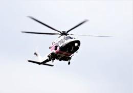 jp arrowさんが、名古屋飛行場で撮影した三井物産エアロスペース AW139の航空フォト(飛行機 写真・画像)