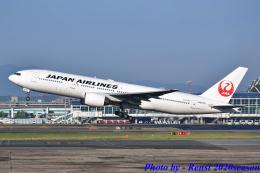 れんしさんが、福岡空港で撮影した日本航空 777-289の航空フォト(飛行機 写真・画像)