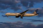 武彩航空公司(むさいえあ)さんが、成田国際空港で撮影したユナイテッド航空 777-222/ERの航空フォト(飛行機 写真・画像)
