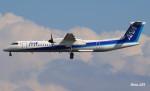 RINA-281さんが、小松空港で撮影したANAウイングス DHC-8-402Q Dash 8の航空フォト(飛行機 写真・画像)