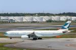 Y-Kenzoさんが、成田国際空港で撮影したキャセイパシフィック航空 A330-342Xの航空フォト(飛行機 写真・画像)