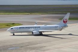 飛行機ゆうちゃんさんが、中部国際空港で撮影した日本トランスオーシャン航空 737-8Q3の航空フォト(飛行機 写真・画像)