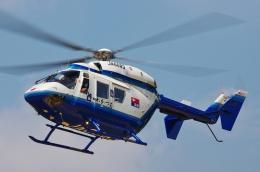 ブルーさんさんが、静岡ヘリポートで撮影した中日新聞社 BK117C-1の航空フォト(飛行機 写真・画像)