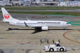 aki241012さんが、福岡空港で撮影した日本トランスオーシャン航空 737-846の航空フォト(飛行機 写真・画像)