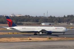 KAZFLYERさんが、成田国際空港で撮影したデルタ航空 767-432/ERの航空フォト(飛行機 写真・画像)