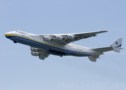 DEE JAYさんが、中部国際空港で撮影したアントノフ・エアラインズ An-225 Mriyaの航空フォト(飛行機 写真・画像)