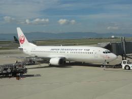 Rsaさんが、関西国際空港で撮影した日本トランスオーシャン航空 737-446の航空フォト(飛行機 写真・画像)