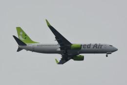 kuro2059さんが、中部国際空港で撮影したソラシド エア 737-881の航空フォト(飛行機 写真・画像)