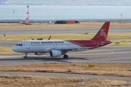 神宮寺ももさんが、関西国際空港で撮影した深圳航空 A320-214の航空フォト(飛行機 写真・画像)