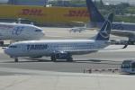 TUILANYAKSUさんが、マドリード・バラハス国際空港で撮影したタロム航空 737-82Rの航空フォト(飛行機 写真・画像)