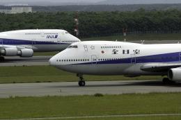 planetさんが、新千歳空港で撮影した全日空 747SR-81の航空フォト(飛行機 写真・画像)