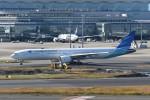 kuro2059さんが、羽田空港で撮影したガルーダ・インドネシア航空 777-3U3/ERの航空フォト(飛行機 写真・画像)