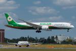 Tomo-Papaさんが、成田国際空港で撮影したエバー航空 787-9の航空フォト(飛行機 写真・画像)