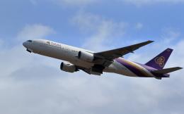 TAKAHIDEさんが、新千歳空港で撮影したタイ国際航空 777-2D7の航空フォト(飛行機 写真・画像)
