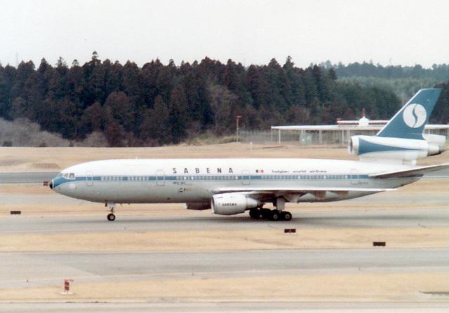 maverickさんが、成田国際空港で撮影したサベナ・ベルギー航空 DC-10-30の航空フォト(飛行機 写真・画像)