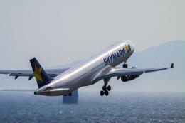 rokko2000さんが、神戸空港で撮影したスカイマーク A330-343Xの航空フォト(飛行機 写真・画像)