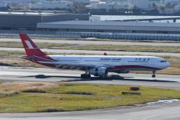 kuro2059さんが、羽田空港で撮影した上海航空 A330-343Xの航空フォト(飛行機 写真・画像)