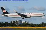 Chofu Spotter Ariaさんが、成田国際空港で撮影したカーゴジェット・エアウェイズ 767-323/ERの航空フォト(飛行機 写真・画像)
